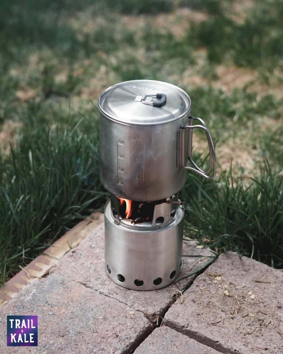Solo Stove Lite Cook Pot - Best Backpacking Stoves - Trail and Kale