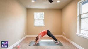 Lululemon Easy Yoga Stretches For Runners trail and kale Downward Dog