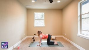 Lululemon Easy Yoga Stretches For Runners trail and kale Cow Pose