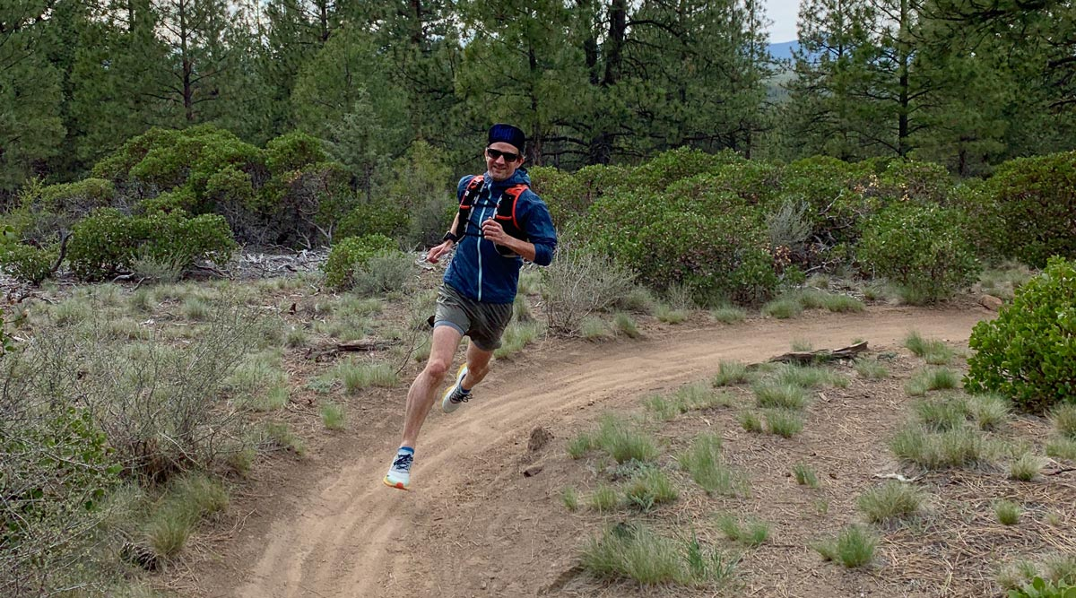 Alastair Running in Bend Oregon Why you should take your phone running