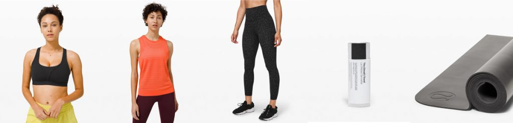 Easy yoga stretches for runners Lululemon womens outfit