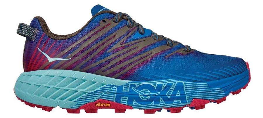 Hoka Speedgoat 4 Womens Best Womens Trail Running Shoes