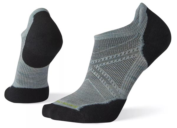 Smartwool PhD Run Light Elite Micro Socks Best no show running socks for trail running trail and kale 1