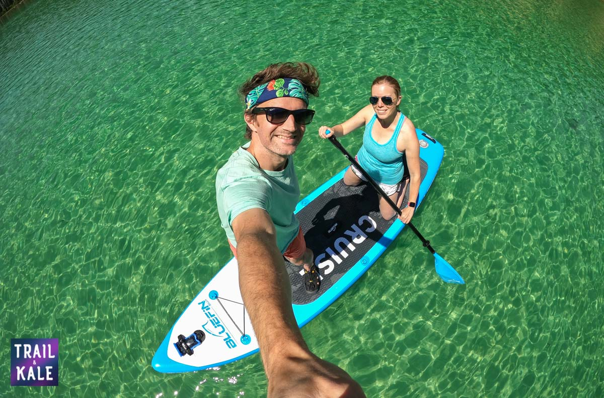 BlueFin SUP Review Stand Up Paddleboard trail and kale web wm 28