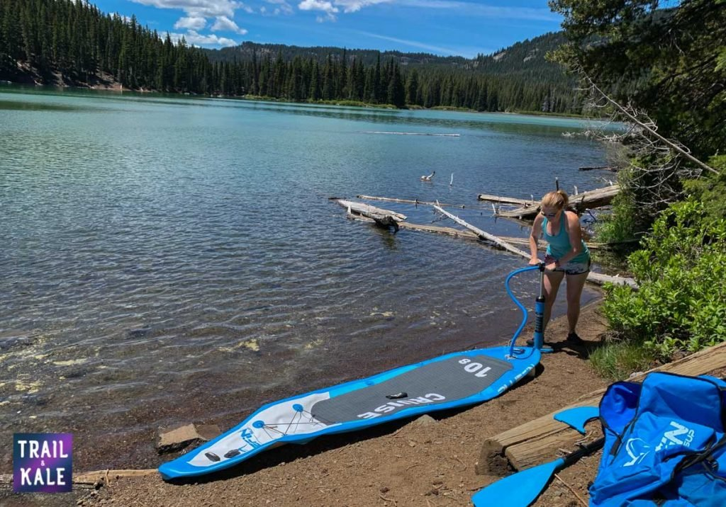 BlueFin SUP Review Stand Up Paddleboard trail and kale web wm 3