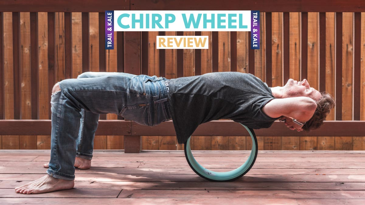 Chirp Wheel Review trail and kale