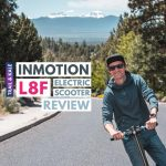 INMOTION L8F Electric Scooter Review trail and kale 1