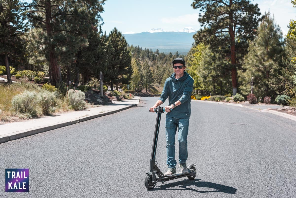 INMOTION L8F Electric Scooter Review trail and kale web wm 10