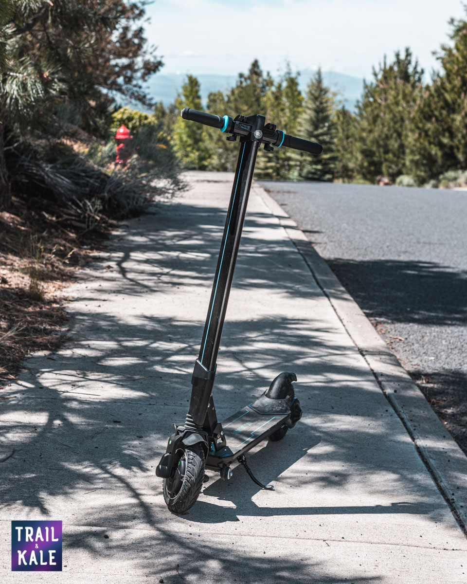 INMOTION L8F Electric Scooter Review trail and kale web wm 16