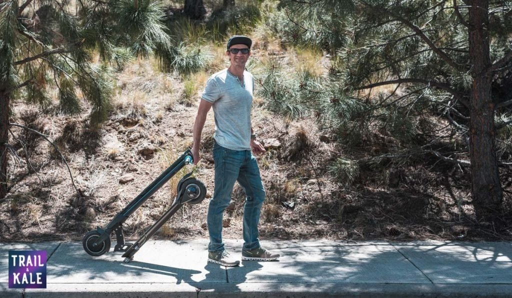 INMOTION L8F Electric Scooter Review trail and kale web wm 23