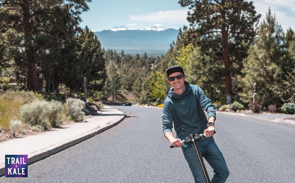 INMOTION L8F Electric Scooter Review trail and kale web wm 6