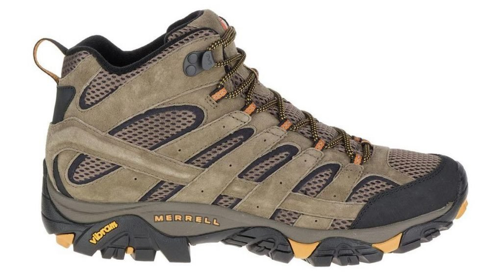 Merrell Moab 2 Mid Vent side Best Hiking Boots Trail and Kale