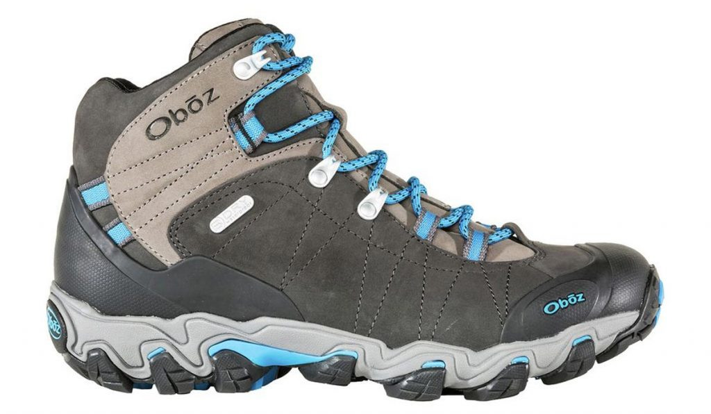 Oboz Bridger Mid BDry side Best Hiking Boots Trail and Kale