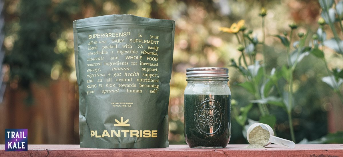 PlantRise Review Supergreens 72 Superfood Powder trail and kale web wm 1