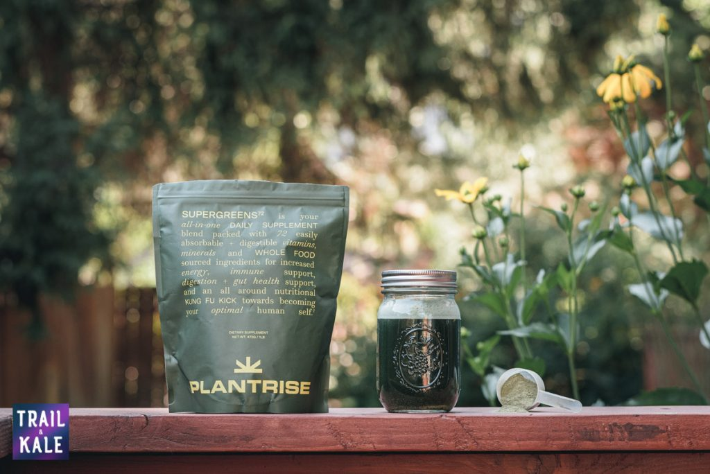 PlantRise Review Supergreens 72 Superfood Powder trail and kale web wm 11