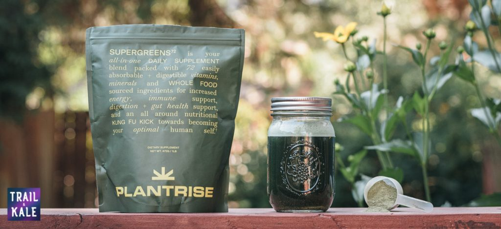 PlantRise Review Supergreens 72 Superfood Powder trail and kale web wm 12