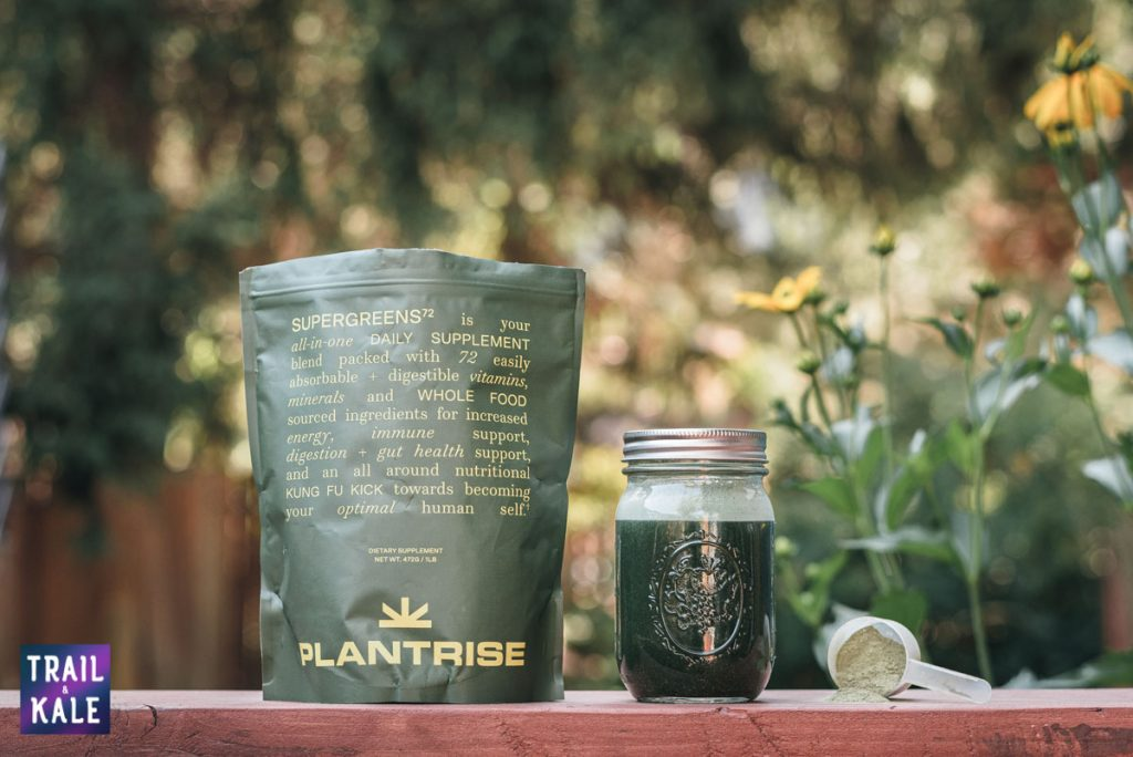 PlantRise Review Supergreens 72 Superfood Powder trail and kale web wm 2
