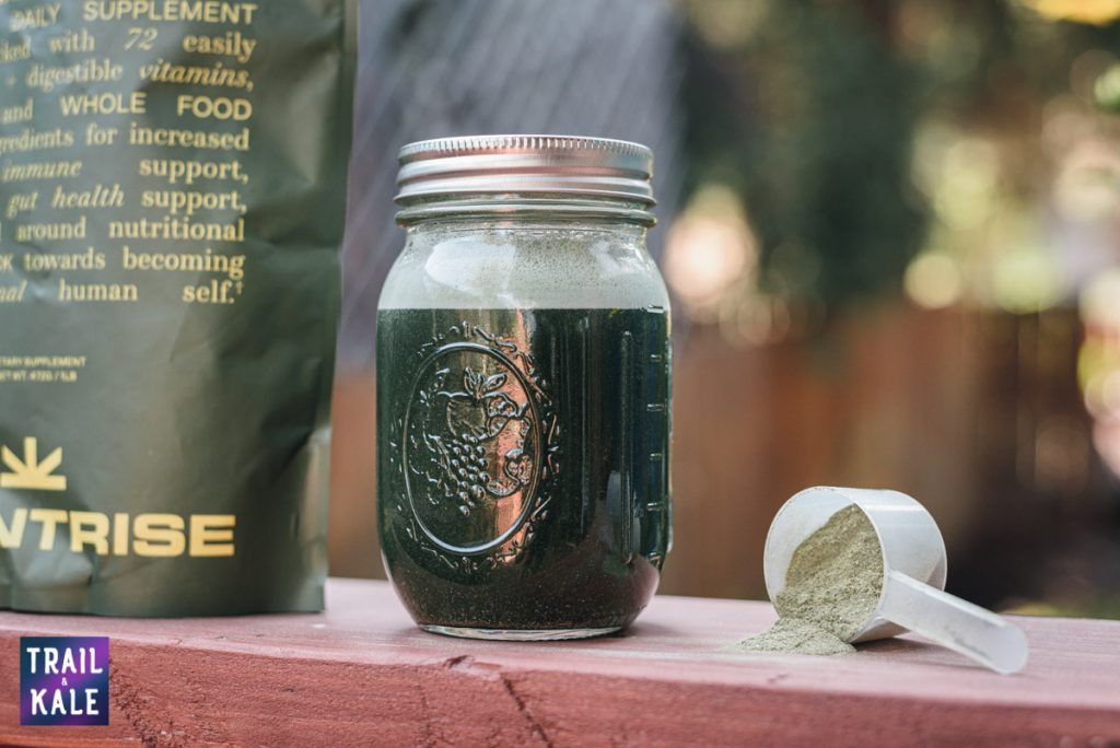 PlantRise Review Supergreens 72 Superfood Powder trail and kale web wm 4