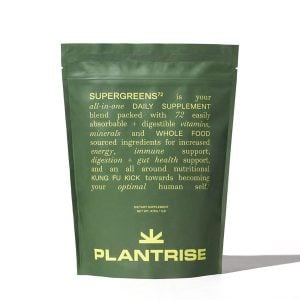 PlantRise SuperGreens72 Best green superfood powders trail and kale