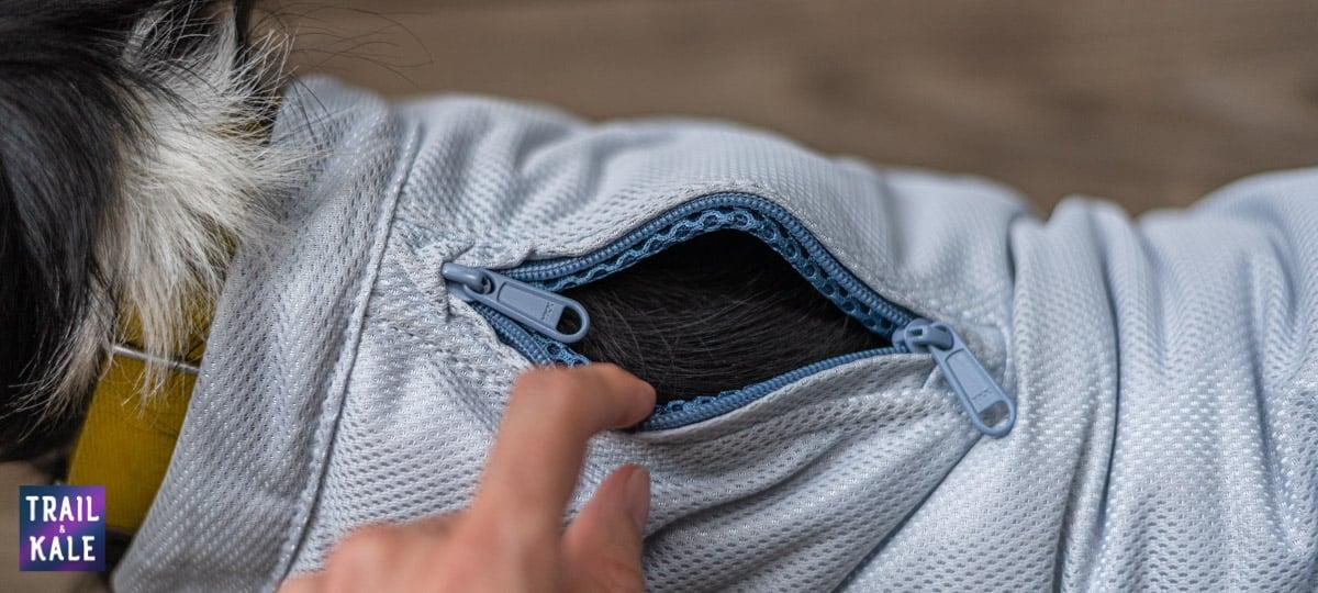 Kurgo Cooling Vest Review Trail kale web wm 9