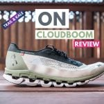 On Cloudboom Review featured carbon plate racing shoes trail and kale