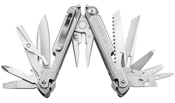 Leatherman FREE P4 Multitool Black Friday Deals Trail and Kale 2