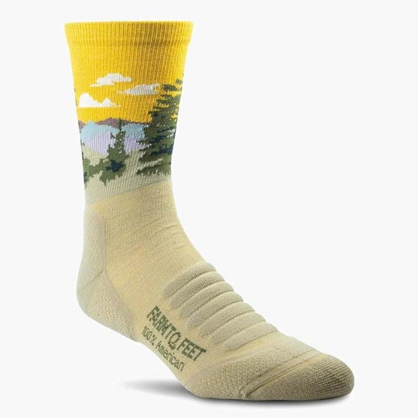 Farm to Feet Socks Advanced Primate Review Trail and Kale