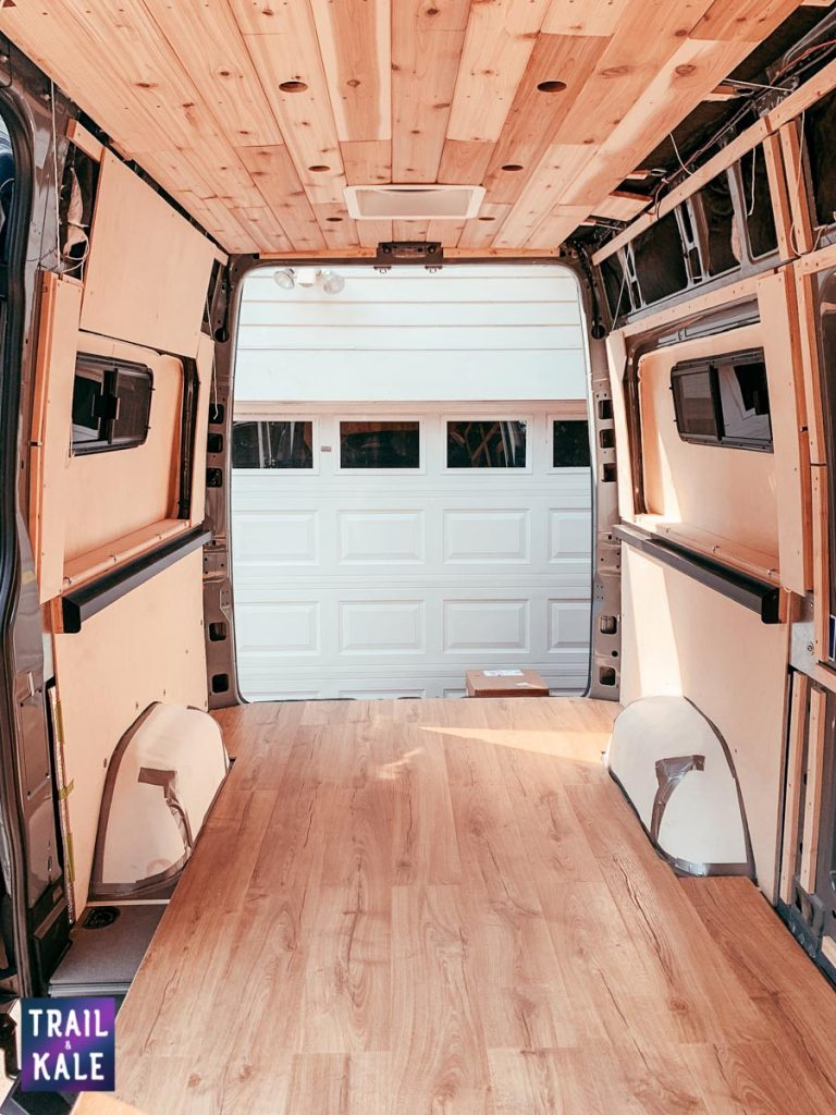 Installing wood paneling in our DIY Sprinter van conversion trail and kale web wm 11