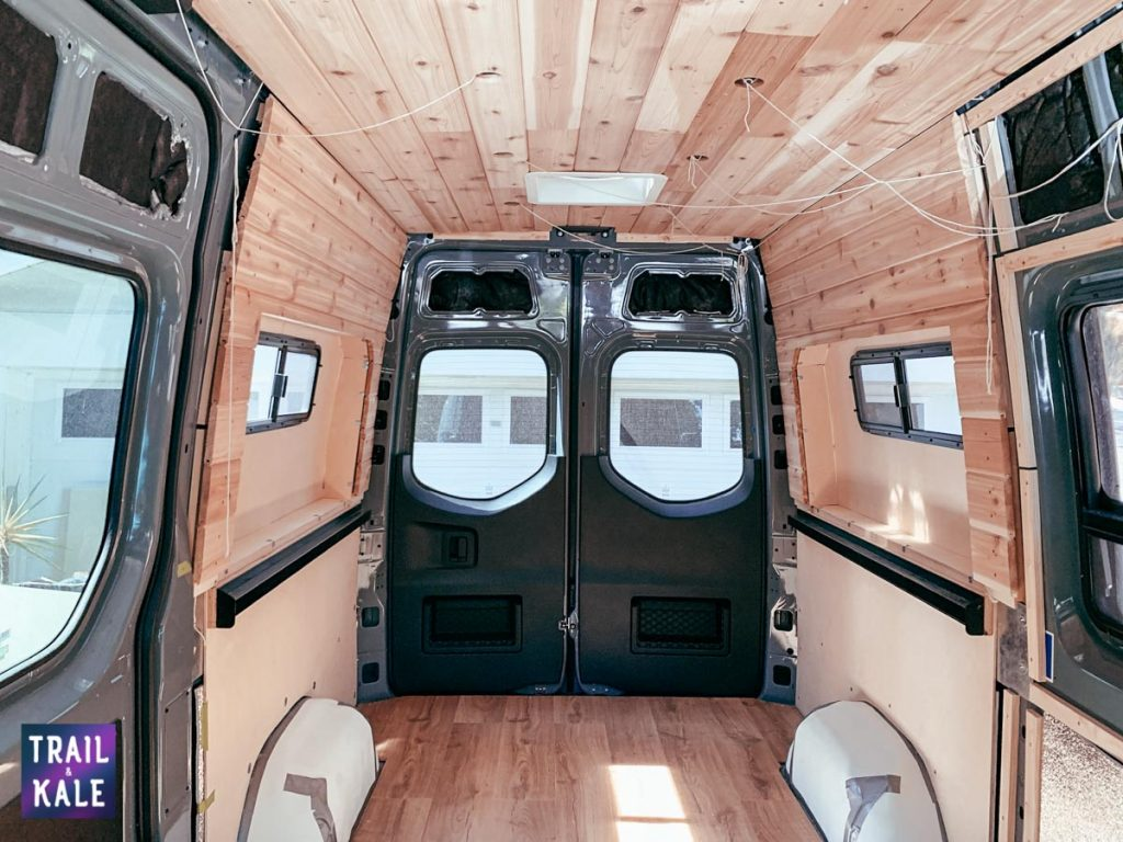 Installing wood panelling in our DIY Sprinter van conversion trail and kale web wm 13