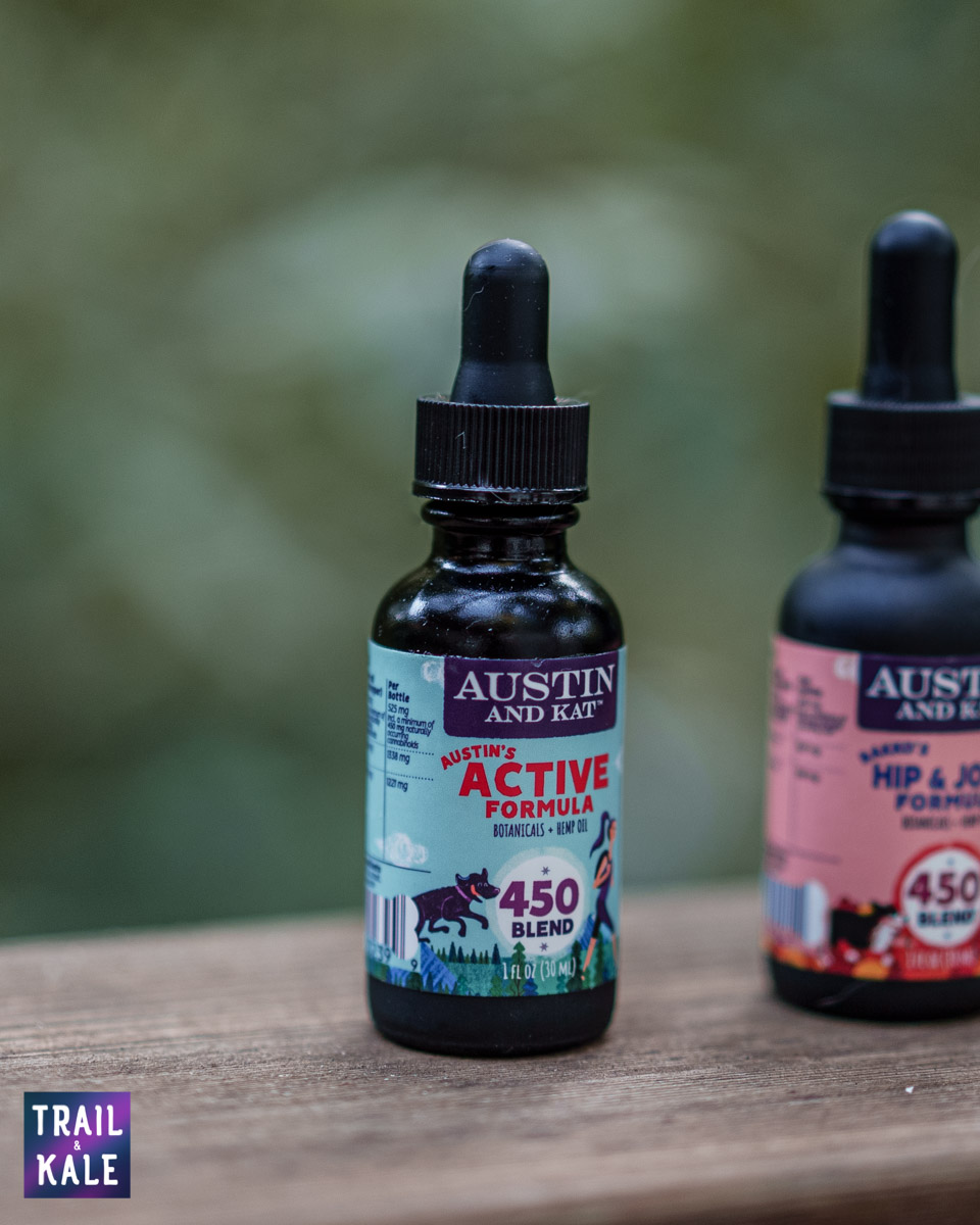 CBD for dogs - Dog CBD oils - Austin & Kat Interview - Trail and Kale