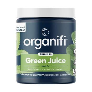 Organifi Green Juice canister - Best greens powder winner