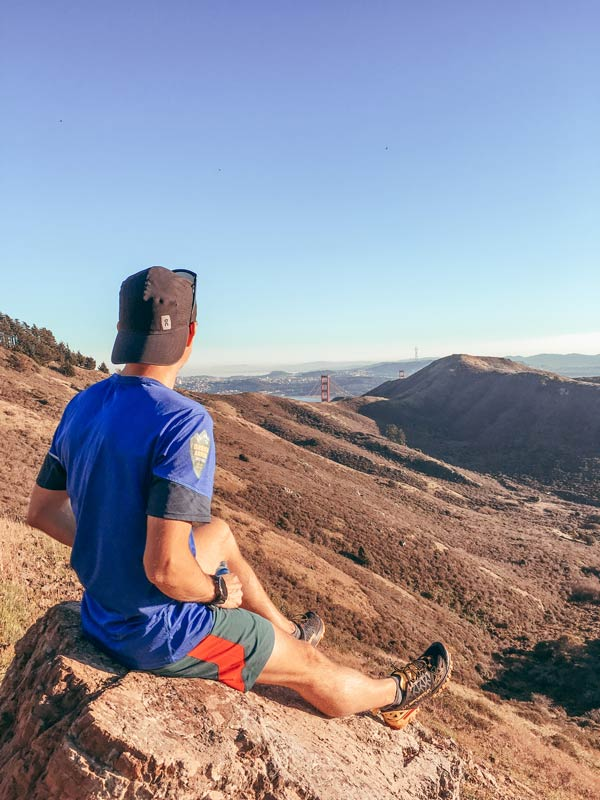 Alastair on the SCA Trail Best Places for Trail Running in California Trail and Kale