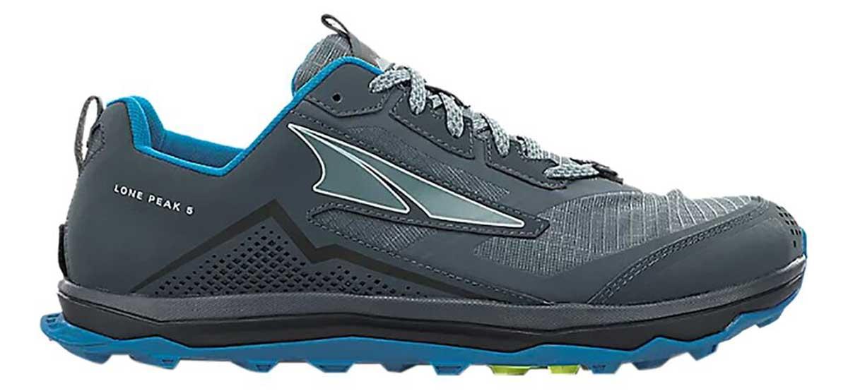 Altra Lone Peak 5.0 best barefoot trail running shoes Trail Kale
