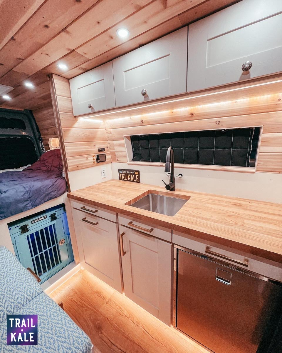DIY Sprinter van build campervan's hidden toilet trail and kale web wm 7