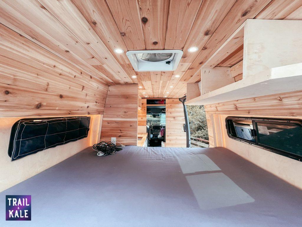 DIY Sprinter van build dog crate in our campervan trail and kale web wm 5