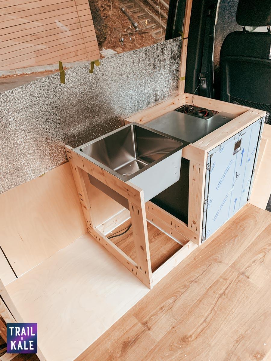 DIY Sprinter van build van conversion cabinets trail and kale web wm 1