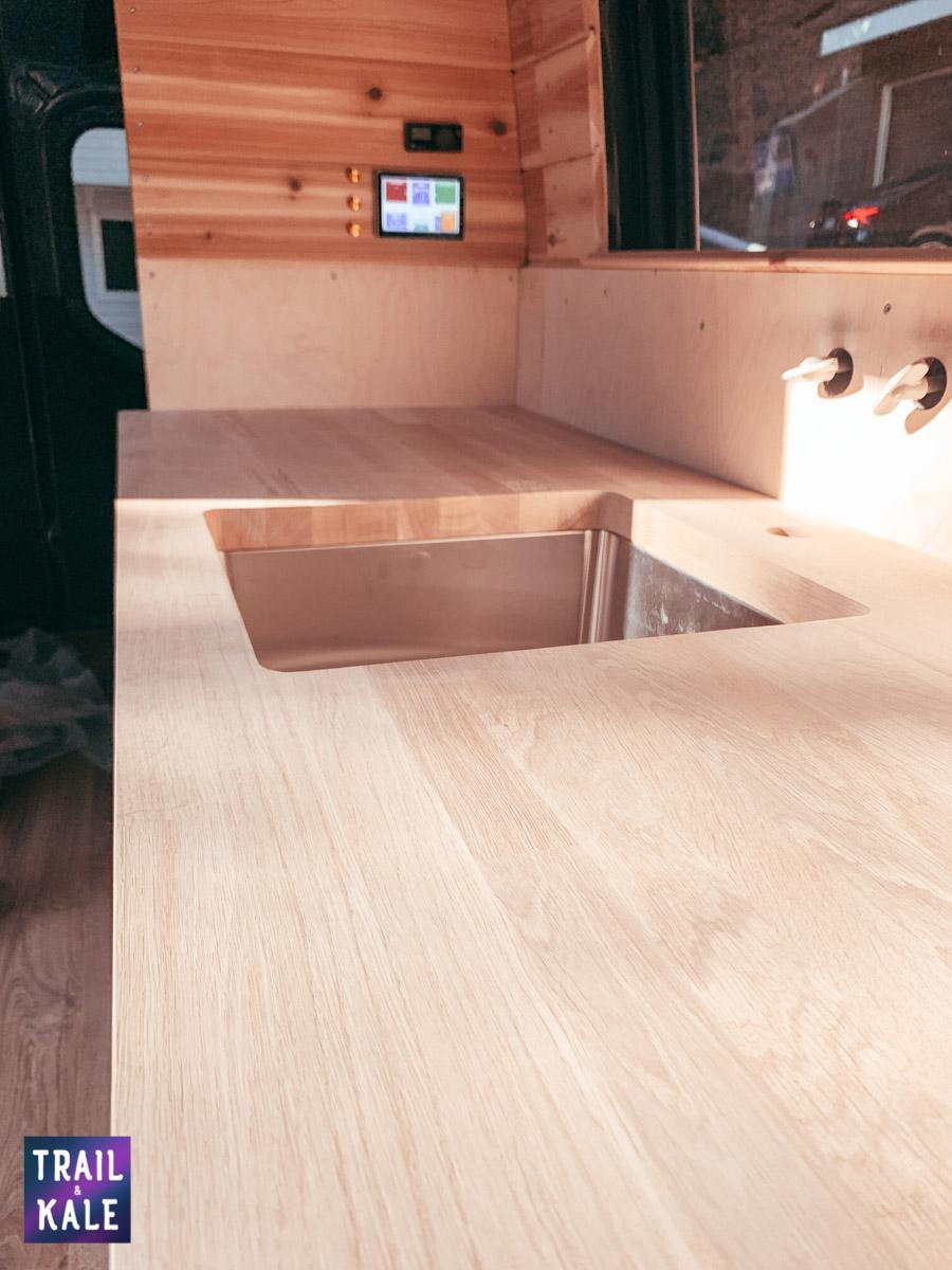 DIY Sprinter van build van conversion cabinets trail and kale web wm 5