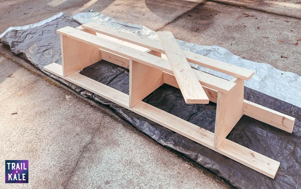 DIY Sprinter van build van conversion cabinets trail and kale web wm 6