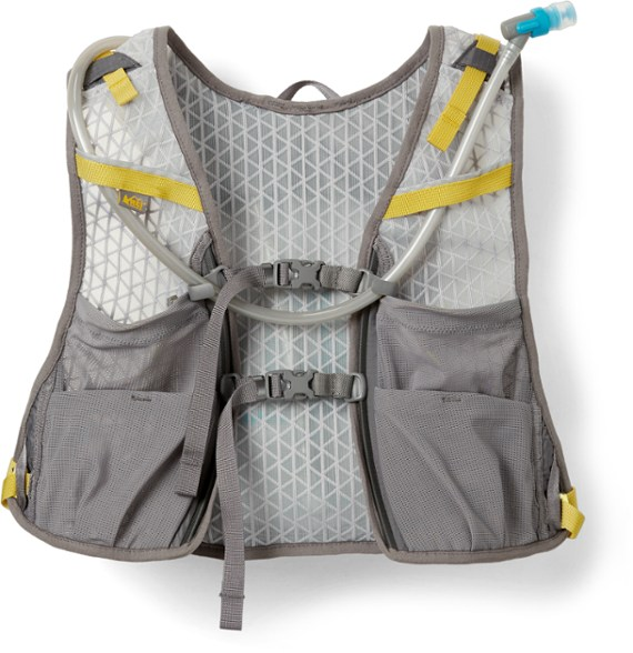 REI Co op Swiftland Hydro Running Hydration Vest 5 Liters trail and kale
