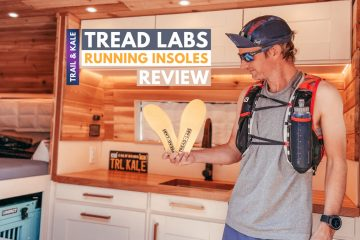 Tread Labs Review running insoles Trail and Kale