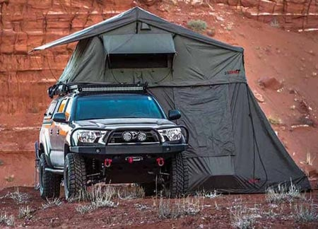 23zero Walkabout 72 Cali King Tent Best Roof Top Tents Trail and Kale