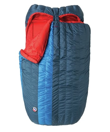 Big Agnes King Solomon 15 Best double sleeping bags Trail and Kale