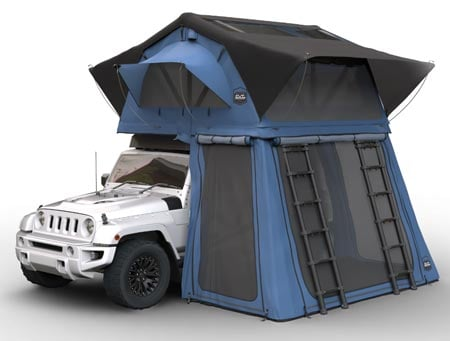 CVT Denali Car Tent Best Roof Top Tents Trail and Kale