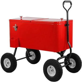 Clevr Party Wagon Cooler 80QT Best Coolers Trail and Kale