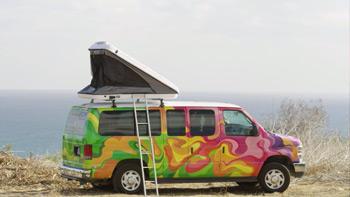 Escape Campervans Mavericks Camper Van Rental Companies Trail and Kale