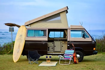 Hawaii Surf Campers Camper Van Rental Companies Trail and Kale