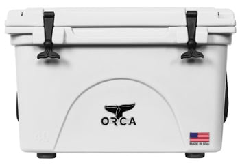 Orca 40QT Cooler White Best Coolers Trail and Kale