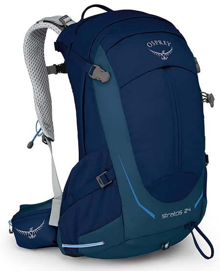 Osprey Stratos 24 Hiking Backpack Best Hiking Daypacks Trail and Kale