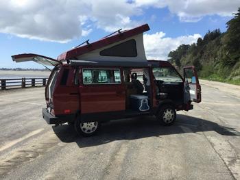 Peace Vans VW Camper Rental Camper Van Rental Companies Trail and Kale