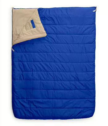 The North Face Eco 20 Double Sleeping Bag Best 2 Person Sleeping Bags for Couples Trail and Kale 1